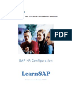 SAP HR Config Guide