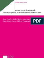 Human Rights Measurement Framework
