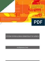 Citizen Journalism and Democracy Book