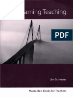 Learning Teaching Scrivener