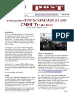 Agile Scrum Cmmi