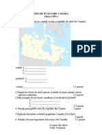 Fisa de Evaluare Canada