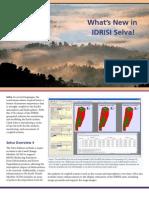 IDRISI Selva - Whats New