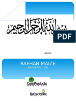 HRM presentation  rafhan maize