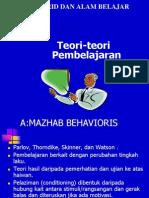 4.TEORI-TEORI PEMBELAJARAN