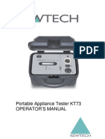 KewTech KT73 Manual
