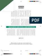 Dossie - Adolescentes Saúde Sexual Saúde Reprodutiva