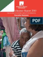 WorldAlzheimerReport2010ExecutiveSummary