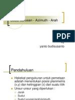 01.SudutJurusanAzimuthArah