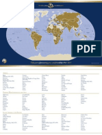 Peace Corps Country List and Map  |  2011