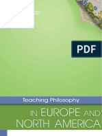 Teaching Philosophy in Europe and North America