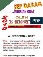1. Prosedur Pemberian Obat Hp 2010