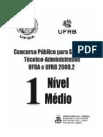 PROVA-UFBA 2008