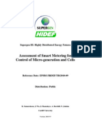 WS2 Deliver Able Assessment of Smart Metering for Contorl of Micro -Generation and Cells_Cardiff