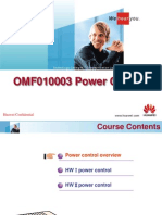Power Control Training