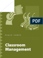 Peace Corps Classroom Management Idea Book