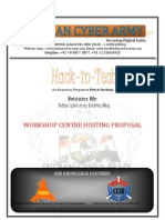 Hack in Tech an Awareness Program in Ethical Hacking