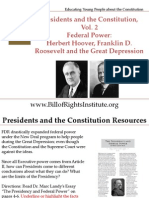 PC 2 Federal Power-Hoover Roosevelt Great Depression-Student Program