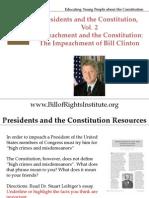 PC 2 Impeachment Clinton Student Program
