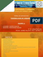 2.-TERMINOLOGÍA DE URBANISMO