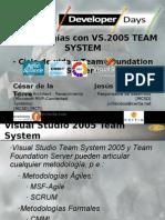 2 Metodologias Con Visual Studio Team System