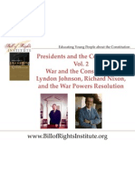 PC 2 Commander-LBJ and Nixon-Student Program