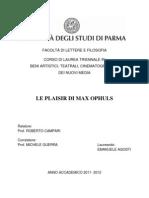 Le plaisir di Max Ophuls