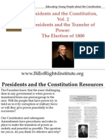 PC 2 Transfer of Power-Election of 1800-Student Program