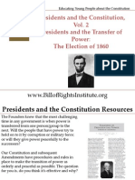 PC 2 Transfer of Power-Election of 1860-Student Program