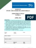 SCS Paper a - Final
