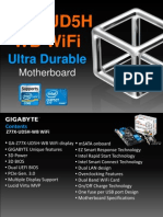 Gigabyte GA-Z77X-UD5H-WB WiFi Motherboard