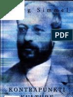 Georg Simmel -Kontrapunkti Kulture