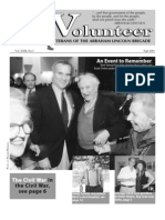 The Volunteer, September 2001