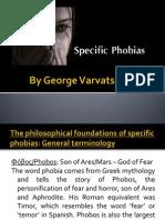 Specific Phobias Presentation