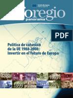Política de cohesión de la UE 1988-2008
