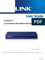 TL-R470T V1 User Guide
