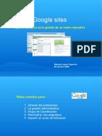 Ejemplos de Google Sites