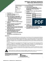 Msp430f2013 - Datasheet