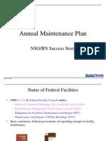NV 2004 Annual Maintenance Plan
