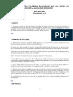 Normativ Pentru Folosirea Blocurilor Mici Din Beton Cu Agregate Usoare La Lucrarile de Zidarie