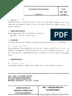 NBR 10818 - 1989 - Qualidade de ╡gua de Piscina