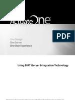 Using Iserver Integration Tech