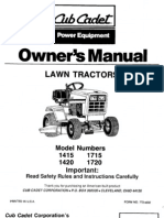 LTX 1040 Service Manual | Belt (Mechanical) | Tractor