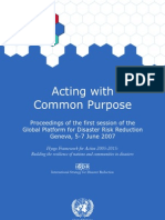 Hyogo Framework for Action 2005_2015