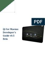 Qt for Maemo Developers Guide v0 5 Beta