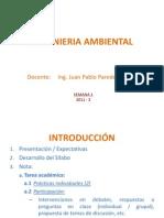 1ra Clase Ingenieria Ambiental