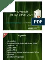 OSSIR - ISA 2004 v1.0