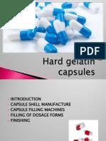 Hard Gelatin Capsules