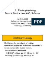 REVIEWER for Post Final EXAMS Guidelines in Basic Neurophysiology