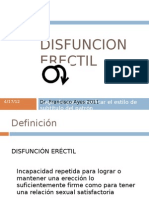 Disfuncion Erectil Rev 2012